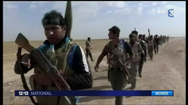 Irak : les forces irakiennes aux portes de Mossoul