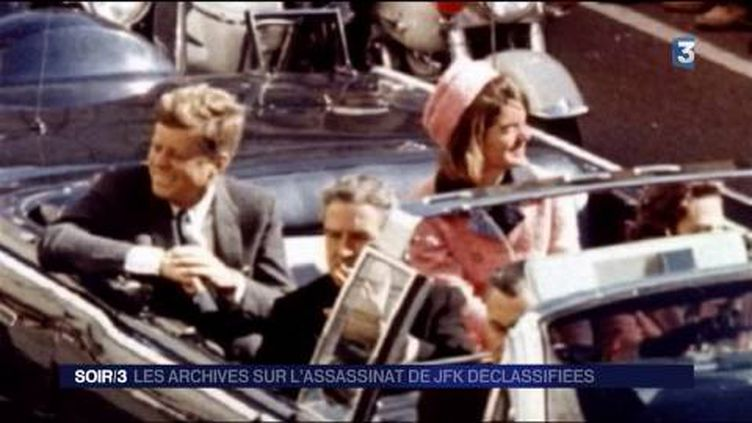 John Fitzgerald Kennedy a été assassiné à Dallas. (FRANCE 3)