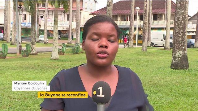 Covid-19 : la Guyane se reconfine