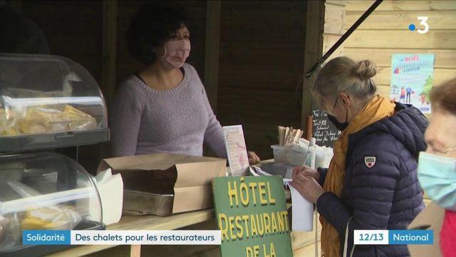 Calvados : à Lisieux, des chalets pour les restaurateurs