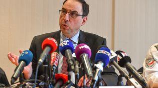 Le procureur de la République de Lille,Thierry Pocquet du Haut-Jussé (PHILIPPE HUGUEN / AFP)