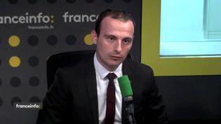 Fabien Di Filippo, député Les Républicains de Moselle, sur franceinfo le 23 mai 2018. (FRANCEINFO / RADIOFRANCE)