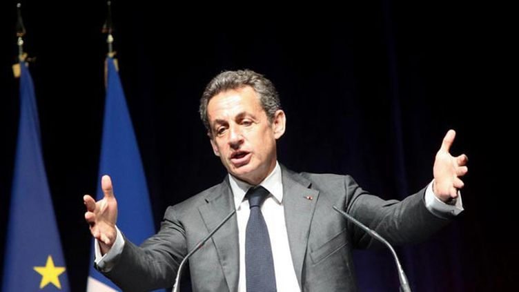 (Nicolas Sarkozy espérait être débarrassé de cette affaire des écoutes © MAXPPP)