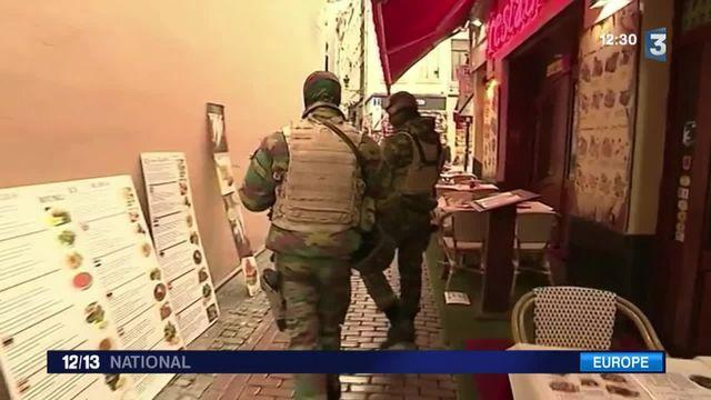 Belgique : quatrième journée consécutive d'état d'alerte maximal à Bruxelles