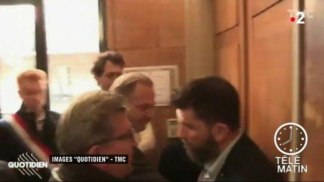 Perquisition des locaux de La France insoumise : Jean-Luc Mélenchon s'emporte contre le procureur