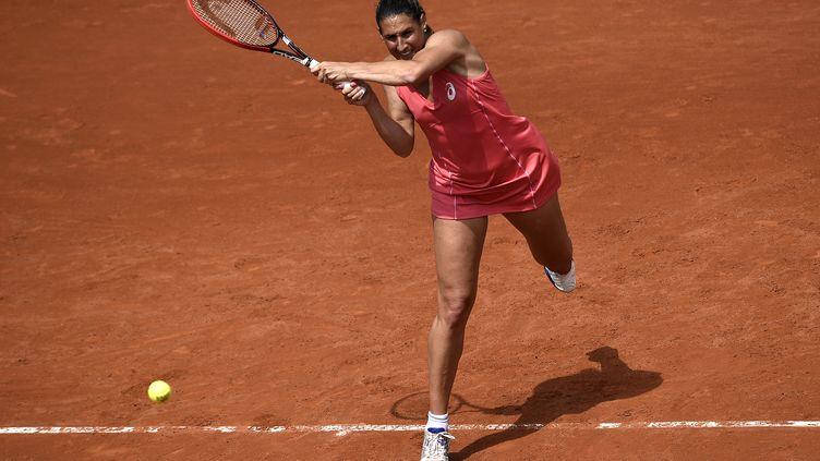 Virginie Razzano (MIGUEL MEDINA / AFP)