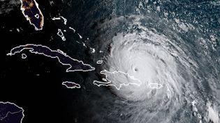 Vue satellite de l'ouragan Irma (HO / NOAA/RAMMB)