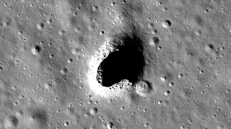 Photo de la zone des collines Marius sur la Lune, observée par la sonde japonaise d'observation lunaire Selene. (NASA / GODDARD / ARIZONA STATE UNIVERSITY)
