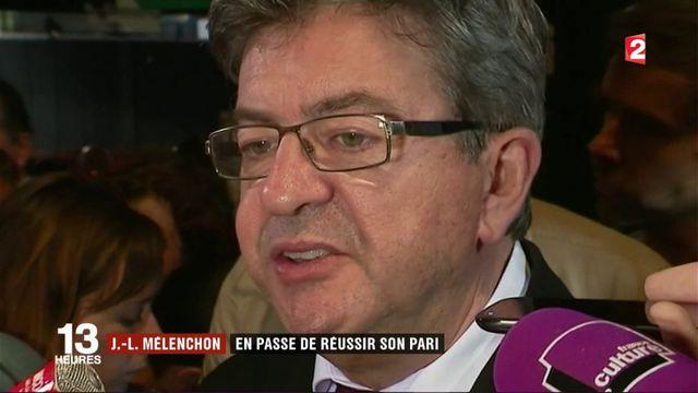 Législatives 2017 : Jean-Luc Mélenchon en tête à Marseille