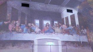 """""""Les galeries Léonard de Vinci peintre et architecte"""" exposition immersive au Château du Clos Lucé d'Amboise (France 3 Centre)"""