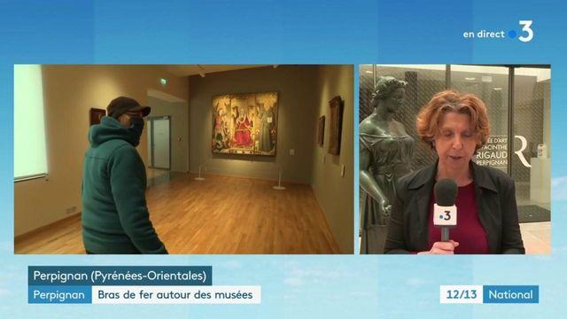 """Réouverture de musées à Perpignan : les visiteurs saluent """"une décision courageuse"""" du maire Louis Aliot"""