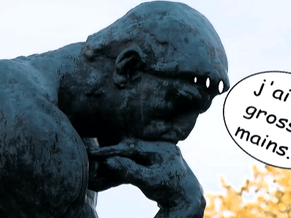 Le Penseur De Rodin Les Cles D Une Enigme