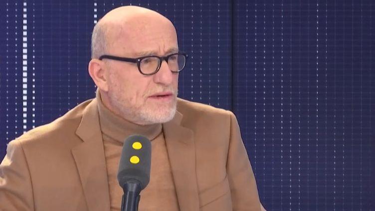 L'avocat Alain Jakubowicz, invité du 8h30 franceinfo samedi 16 novembre 2019. (FRANCEINFO / RADIOFRANCE)