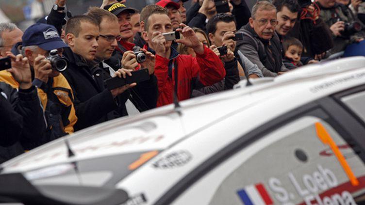 La Citroën de Loeb et Elena captive le public alsacien