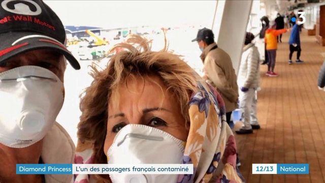 Diamond Princess : l'un des passagers français est contaminé