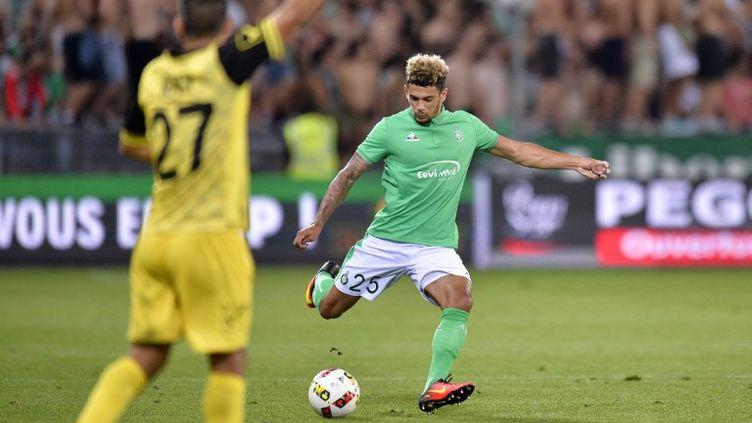 Saint-Etienne qualifié pour la phase de poules de la Ligue Europa (ROMAIN LAFABREGUE / AFP)