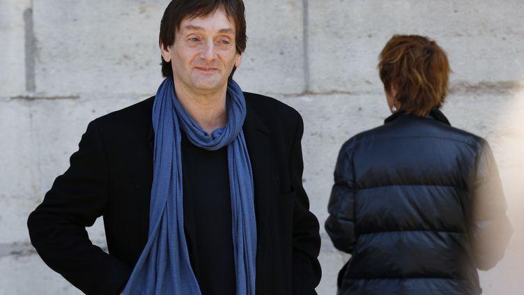 Le comédien Pierre Palmade à Paris, le 9 septembre 2015. (FRANCOIS GUILLOT / AFP)