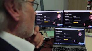 Le sitede paris sportifs Pronoclub, dont le PDG a été mis en examen et écroué vendredi 17 septembre. (Capture d'écran / France 3)