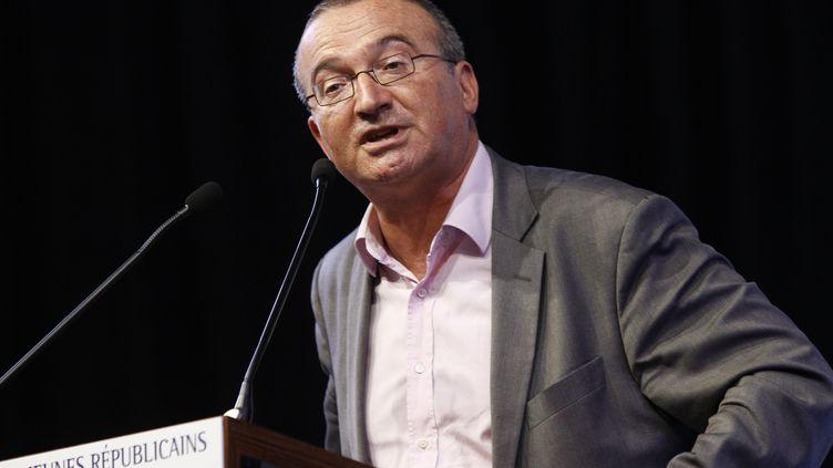 Hervé Mariton, le 12 septembre, auTouquet-Paris-Plage (Pas-de-Calais). (CITIZENSIDE/FRAN?OIS LOOCK / CITIZENSIDE.COM)