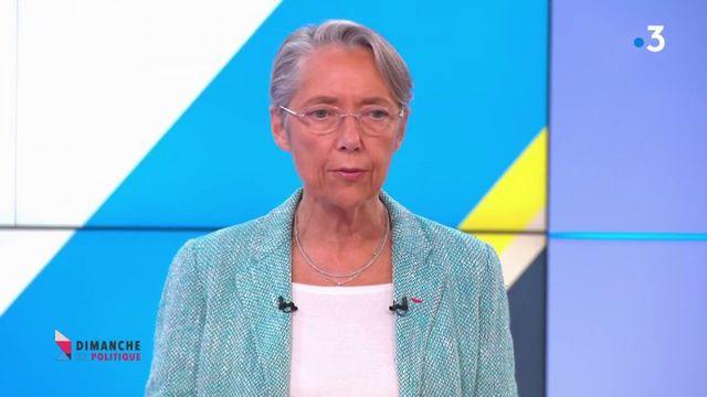 """""""Dimanche en politique"""" : """"On ne va pas refaire la taxe carbone telle qu'elle était prévue"""", indique Élisabeth Borne"""