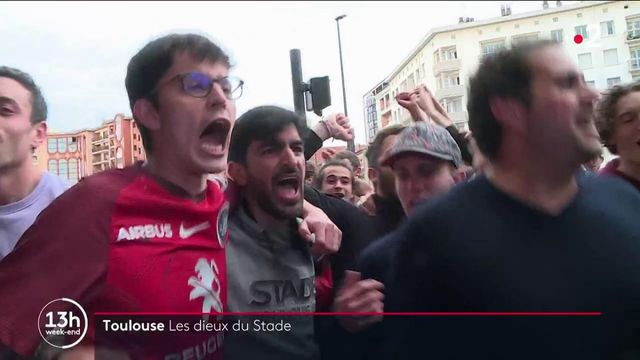 Rugby : le Stade toulousain champion d'Europe, la joie des supporters