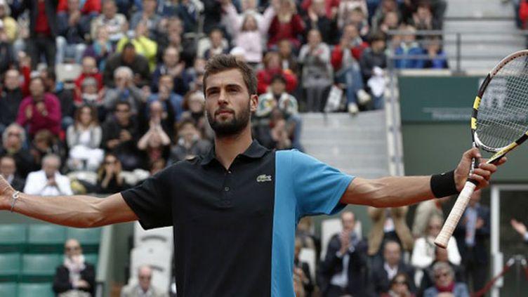 Le tennisman français Benoît Paire