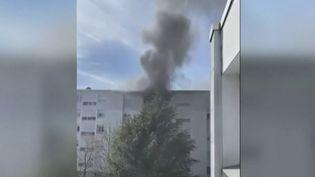 Nantes : un bébé et ses parents sauvés d'un incendie par un groupe de jeunes (FRANCE 2)
