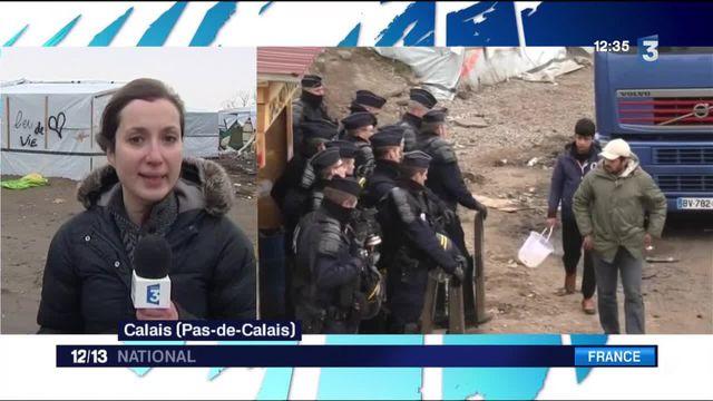 Calais : le démantèlement du camp se poursuit