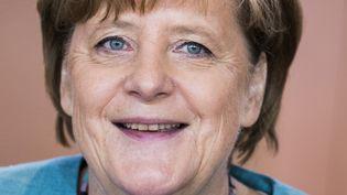 La chancelière allemande Angela Merkel en conseil des ministres, le 19 juillet 2017. (ODD ANDERSEN / AFP)
