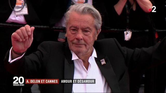 Cinéma : Alain Delon et Cannes, entre amour et désamour