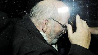Jean-Claude Mas, fondateur de la marque de prothèses PIP, lors de son placement en garde à vue le 26 janvier 2012. (RUOPPOLO GUILLAUME / MAXPPP)
