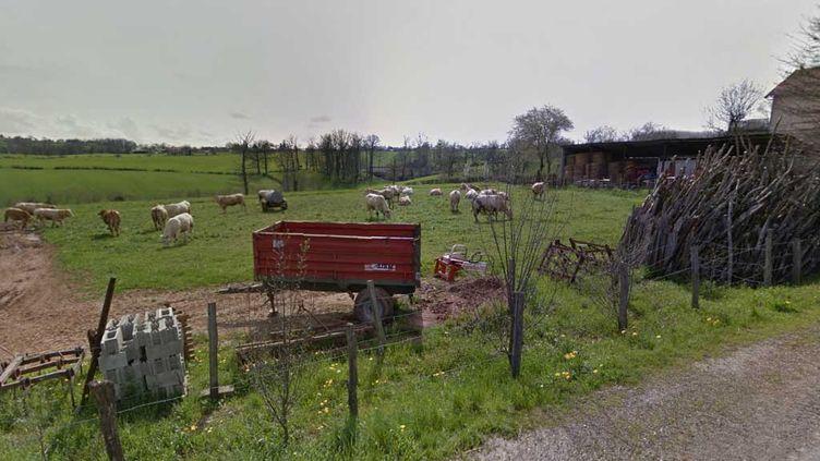 (Le drame s'est déroulé aux Farguettes, commune de Mayran, en Aveyron © Google Street View)