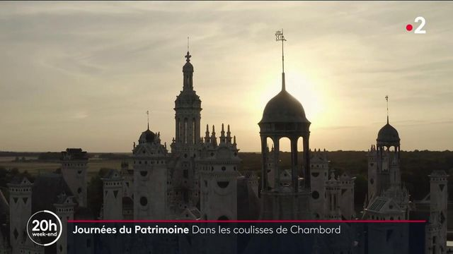 Chambord : dans les coulisses du château, marqué par le temps
