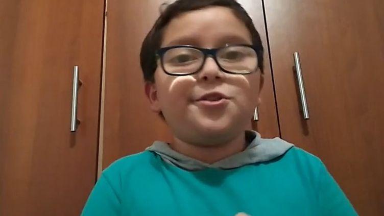 FranciscoJavier Vera Manzanares. Militant écologiste colombien de 11 ans. (CAPTURE D'ECRAN FACEBOOK)