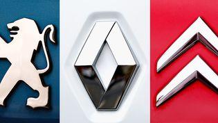 Le 5008 de Peugeot et le Kadjar de Renault ont le vent en poupe sur le marché français mais aussien Europe et aux Etats-Unis. (PHILIPPE HUGUEN / AFP)