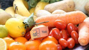 Près de trois quarts des fruits et 41% des légumes non bio sont porteurs de traces de pesticides, selon un rapport publié par Générations Futures. (MAXPPP)