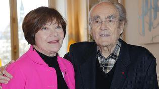 Macha Méril et Miichel Legrand en 2016  (Jacques Brinon/AP/SIPA)