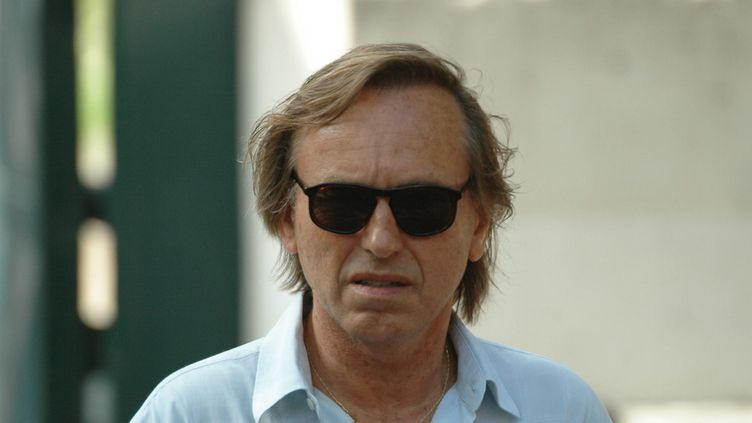 Alexandre Arcady aux obsèques dede Gérard Oury, en juillet 2006. (MAXPPP)