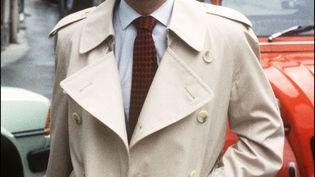 Le juge Jean-Michel Lambert, le 22 juin 1985, à Epinal (Vosges). (MARCEL MOCHET / AFP)