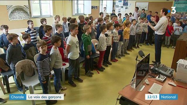 Chorale : la voix des garçons