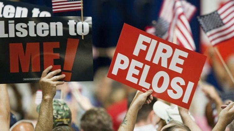 Meeting républicain à Lake Buena Vista (Floride) 26 octobre 2010 (AFOP/MATT STROSHANE)