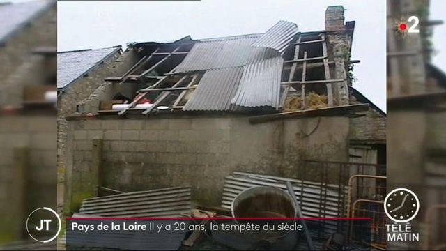 Tempête de 1999 : les Pays de la Loire meurtris il y a 20 ans