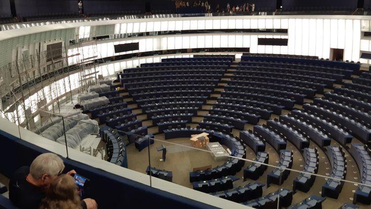 Le Parlement européen à Strasbourg n'a plus accueilli de session depuis février 2020. (CORINNE FUGLER / FRANCE-BLEU ALSACE)