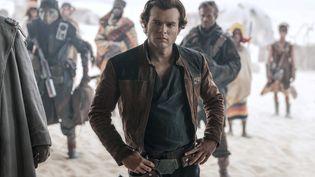 "Alden Ehrenreich incarne Han Solo jeune dans ""Solo : A Star Wars Story"". (LUCASFILM LTD. / JONATHAN OLLEY)"