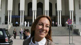Véronique Robert, le 18 novembre 2007 à Dubaï (Emirats arabes unis). (KARIM SAHIB / AFP)