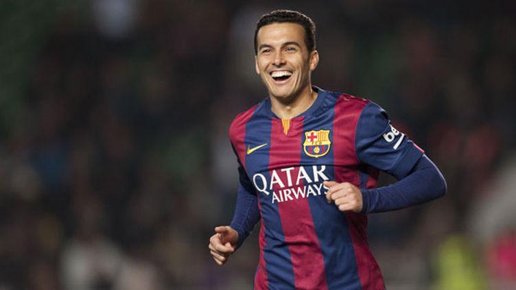 L'ailier du FC Barcelone, Pedro