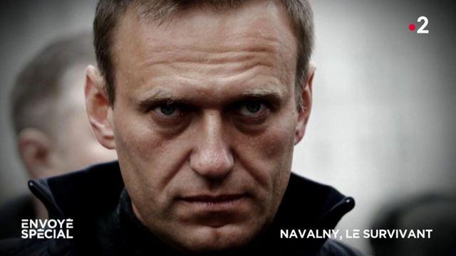Envoyé spécial. Navalny, le survivant