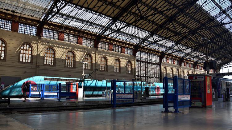 Le hall de la gare Saint-Charles de Marseille, le 28 juin 2018. (GERARD BOTTINO / CROWDSPARK / AFP)