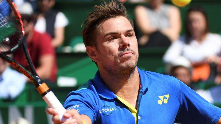 Le joueur suisse Stan Wawrinka (YANN COATSALIOU / AFP)