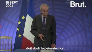 """VIDEO. Robert Badinter : """"Il est certain que l'abolition, tôt ou tard, triomphera"""" (BRUT)"""